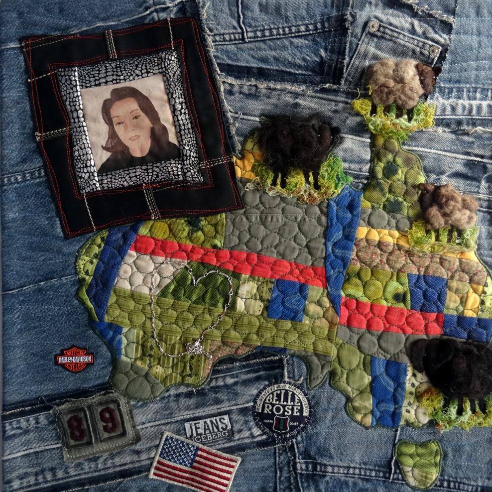 Christel Sins-Camp - Herinnering in textiel voorbeeld