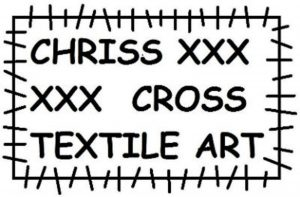 Logo Chriss Cross Textile Art contactgegevens